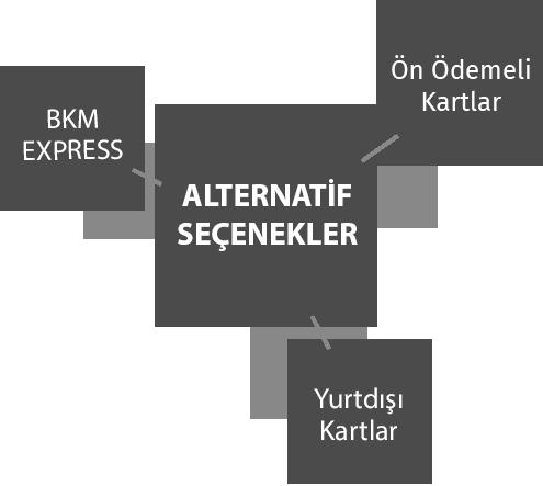 ALTERNATİF ÖDEME SEÇENEKLERİ