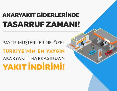 PayTR Akaryakıt Kampanyası