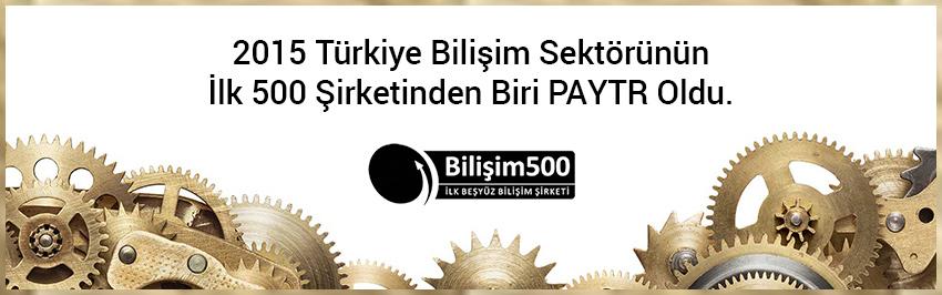 2015 Türkiye Bilim Sektörünün 'İLK 500 DİŞLİ'si