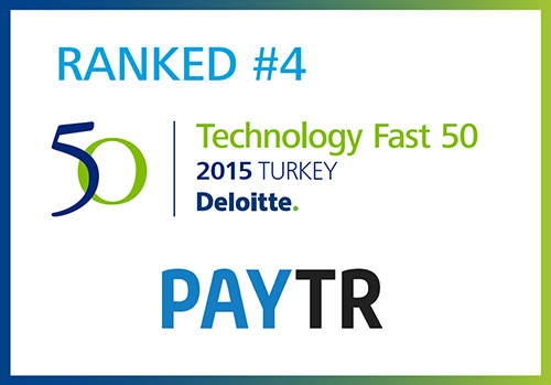 Türkiye'nin en hızlı büyüyen 4. teknoloji şirketi olduk!