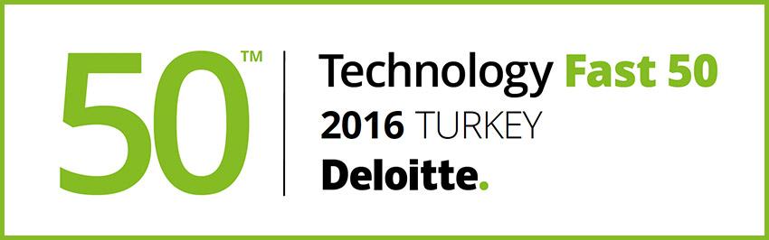 Deloitte Teknoloji Fast 50 listesi.