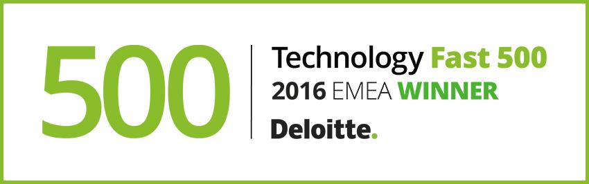Deloitte Teknoloji Fast 500 EMEA listesi.