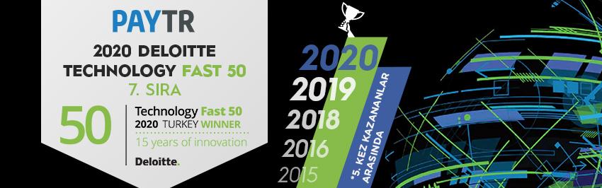 2020 Deloitte Teknoloji Fast 50